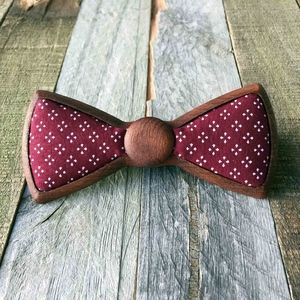 Men's Wooden Bow Tie